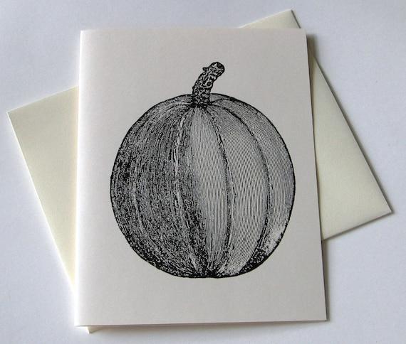 Pumpkin Note Card Set
