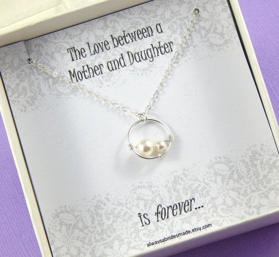 Genoeg Moeder van de bruid ketting cadeau moeder van de bruid | Etsy #FQ75