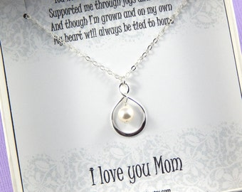 Mother of the Bride Necklace Gift,Mother Of The Bride Necklace,Mother of the Bride Gift Box Necklace,Mother of Bride,Wedding gift for Mother