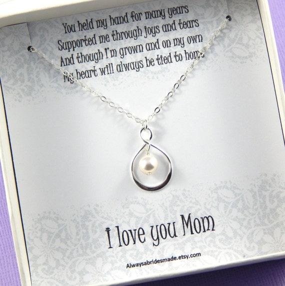 Geliefde Moeder van de bruid ketting cadeau moeder van de bruid | Etsy @WU41