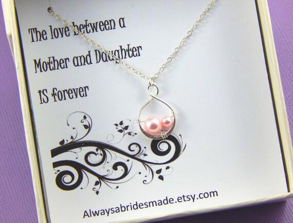 Favoriete Moeder van de bruid ketting cadeau moeder van de bruid | Etsy #TM13