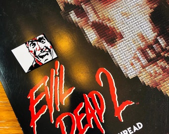 Evil Dead 2: The Book of the Thread Cross Stitch Pattern Book