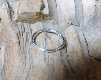 Wire Sterling Silver Band RF442