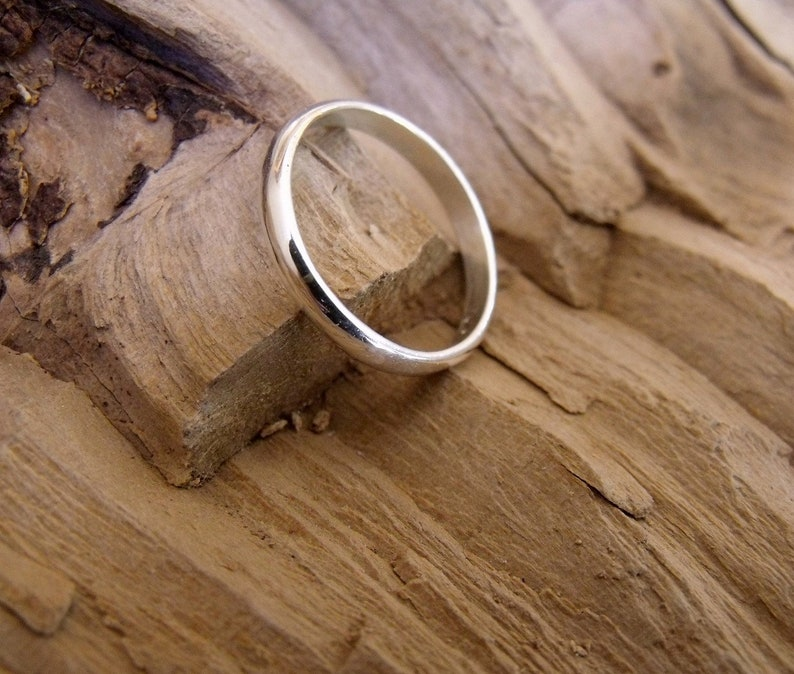 2.0 mm Wedding Band Sterling Silver RF260 image 0