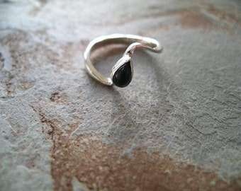 Sapphire Cabachon Ring made in Sterling Silver RF146