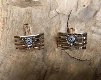 Cufflinks Elks BPOE Gold Filled RF009 Vintage
