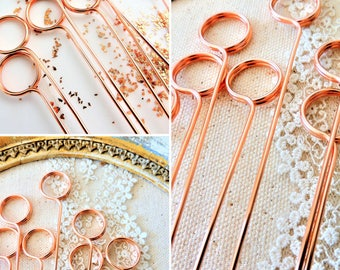 Tall wire card holders table number holder swirl stems pick wire table number holder diy swirl round stems pick photo flat card memo pins holders sign cake topper copper gold silver tall long greentooth Image collections