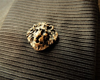 a177131bc8fe TIE TACK Tie Clip Tie Bar Pin Tacks Rustic Gifts for Men Pins Hunting Gifts  Groom Groomsmen Wedding Lion Leo Safari Animal Gold Black Unique
