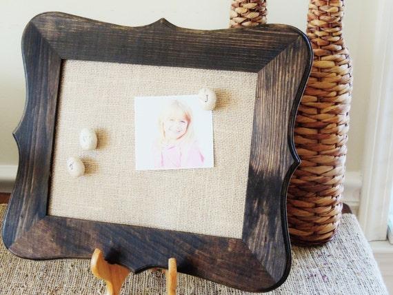 Corkboard Cork Board Framed Cork Bulletin Boards Rustic Fancy | Etsy