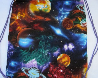 Universe at you back: Backpack/tote Made to order
