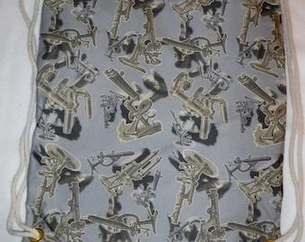 Never too Many Vintage Microscopes Backpack/toteCustom