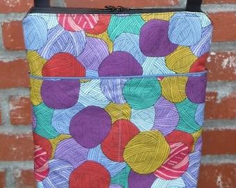 custom print Yarn purse  Cotton-Linen Canvas purse/cross body purse