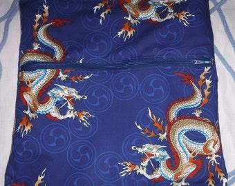 New - Hoffman Fabrics Dragon: 2 in 1 Bag/Backpack