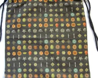 Haeckel Microscopic Life: Backpack/tote Custom Print