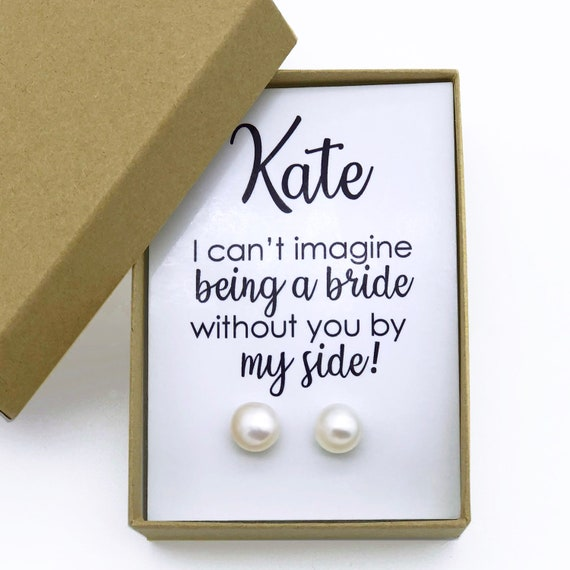 Will You Be My Bridesmaid Gifts Bridesmaid Proposal Gift Etsy