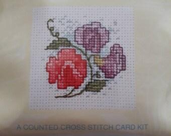 sweet embroidery mini PATTERN Princess /& the Pea Creative Card PATTERN