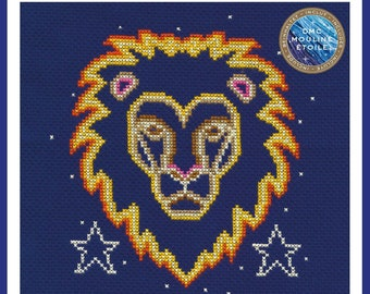 DMC Emily Peacock Zodiac Signs Cross Stitch Kit Virgo BK1867