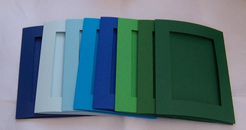 Ouverture de cartes 3 fois avec Enveloppes A6 couleurs mélangées vous choisissez