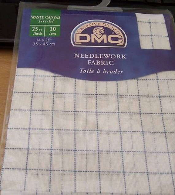 Multiple Sizes Available 14 Count Zweigart Waste Canvas