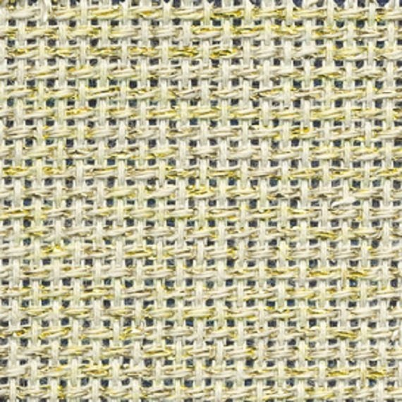 Zweigart Pale Lemon 14 count Aida  100cm x 110 cm