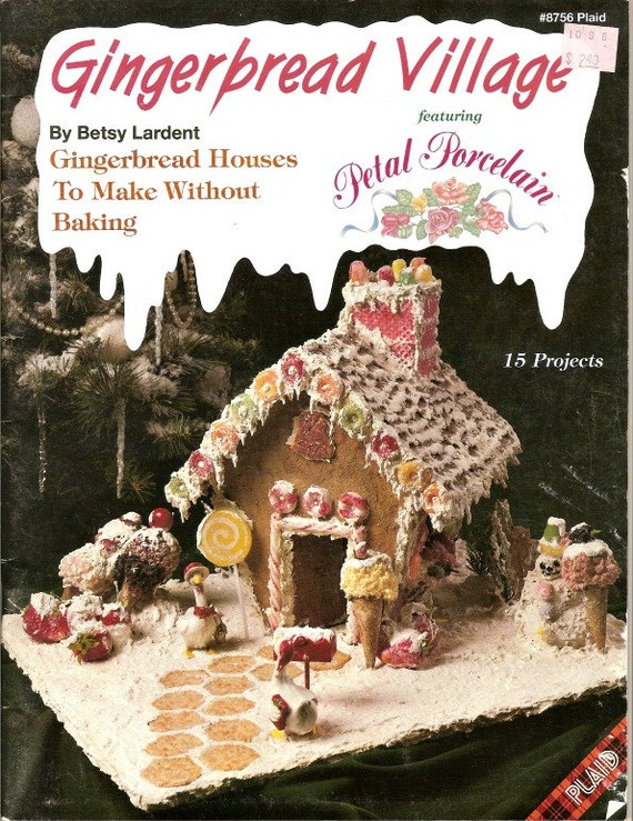 Gingerbread Village How To Make Houses No Bake Designs Etsy