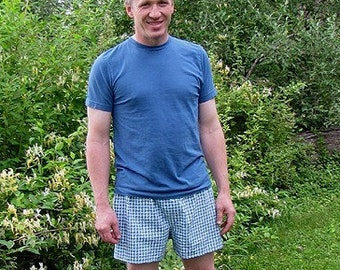 Sis Boom Boxer Shorts Sewing Pattern for adults (great pajamas) - Tommy Boxers, PDF Sewing Pattern with Scientific Seamstress