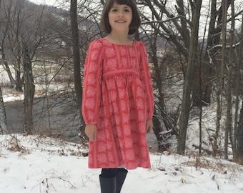 Sis Boom Gabriella Fae, kids Dress or Top PDF Sewing Pattern E-Book with Scientific Seamstress