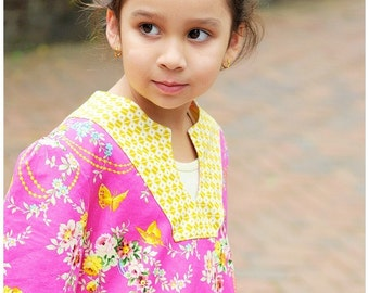 Sis Boom Sophie - kids Tunic Pattern - PDF Sewing Pattern E-Book - with Scientific Seamstress