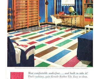 S Floor Tiles Etsy - 1960s floor tiles