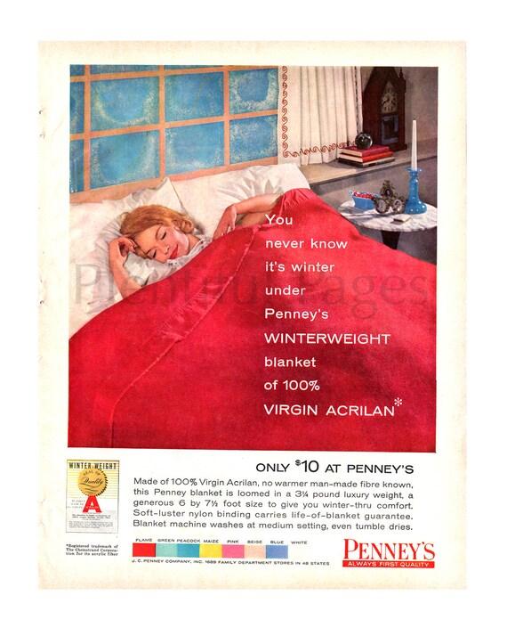 un'altra possibilità preordinare più popolare Banket Vintage D.c., camera da letto anni ' 50, 1950 ' s casalinga di 1959  J.C. Penney, pubblicità arte, arredamento retrò, 1950 ' s moda, signora che  ...
