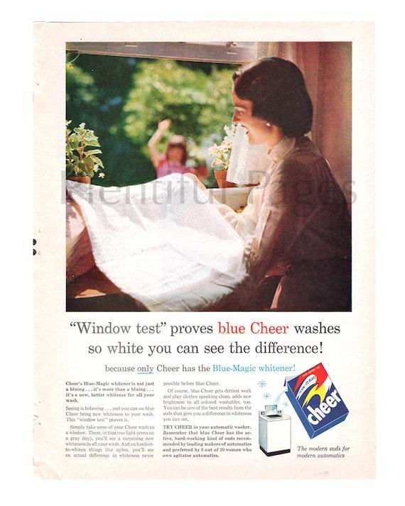 1956 Jubeln Reinigungsmittel Jahrgang Ad 1950 Wäsche 50er Etsy
