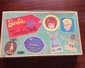 Vintage Barbie and Ken Box from 1962