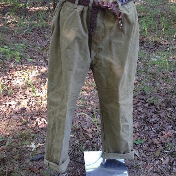 Vintage Duxbak Brand Canvas Hunting Pants