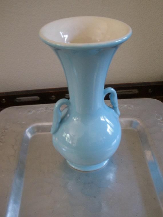 Vintage Abingdon Pottery Vase Etsy