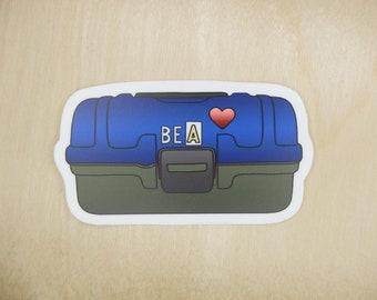 """Bea's Pill Box 3"""" Sticker"""