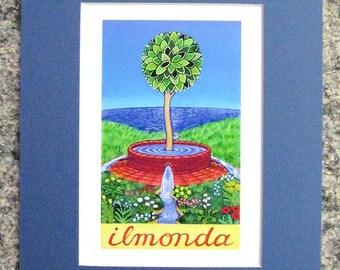 Ilmonda Matted Digital Print