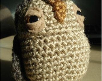 PATTERN - Crochet - Oswald Owl Amigurumi (PDF)