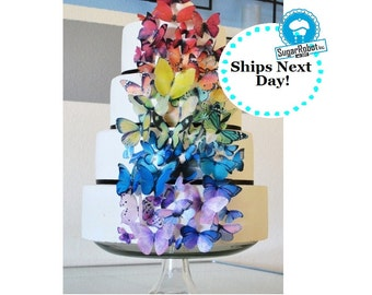 Edible Butterflies Amp Decorations For Cakes Amp By Sugarrobot