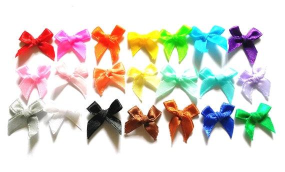 "Wholesale 25-50 Yards 1/"" 25mm Satin Ribbon Wedding Party Craft DIY Hair Bow"