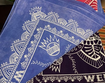 WEEN Bandana Designed by FNORD