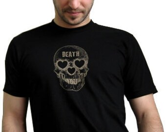 Death Hearts You / Men's T / Black