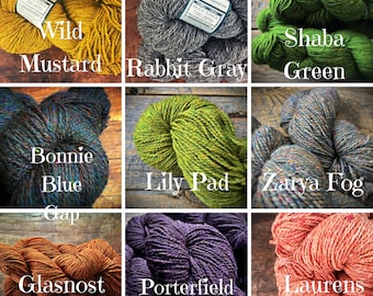 Peace Fleece wool yarn - bulk quantity of worsted weight knitting or crocheting yarn for sweaters