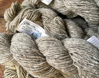 Mountain Mohair - Grey Birch wool yarn