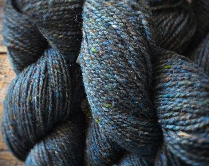 Featured listing image: Peace Fleece - Kalinka Malinka Blue, rustic yarn
