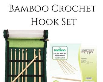 Bamboo Crochet Hook Set by Knitters Pride