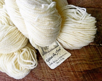Yarn for socks - worsted weight wool sock yarn