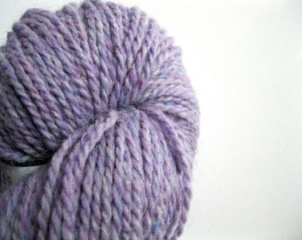 Purple yarn, Peace Fleece, wool for knitting yarn, worsted weight, Latvian Lavender