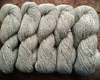 Peace Fleece Negotiation Grey - wool yarn