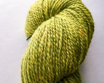 Peace Fleece Lily Pad - green wool yarn
