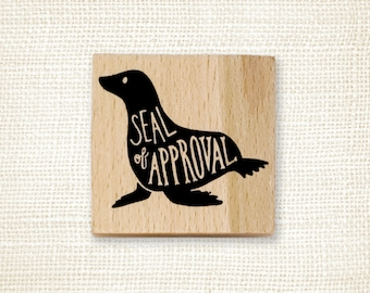 Rubber Stamp - Seal of Approval
